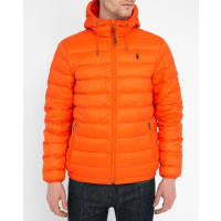 Ralph Lauren Orange Daunenjacke Light