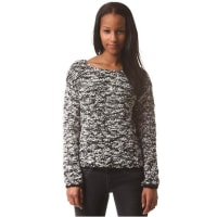 Rich & Royal Queens Crew Neck - Strickpullover für Damen - Schwarz