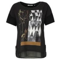 Rich & Royal T-Shirt, Materialmix, Print