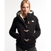 Superdry Microfibre Toggle Puffer Steppjacke