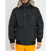The North Face Parka à Capuche Imperméable Fourrure Amovible Duvet Oie Gotham Noir