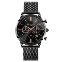 Thomas Sabo Thomas Sabo Herrenuhr REBEL SPIRIT CHRONO schwarz WA0247-202-203-42 mm