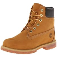 Timberland 6-Inch Premium Waterproof, Damen Halbschaft Stiefel, Gelb (Wheat Nubuck), 38 EU (5 Damen UK)