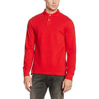 Tommy Hilfiger Herren Poloshirt Slim Fit Polo L/s Sf