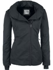 Bench To-The-Point Girl-Winter-Jacke schwarz