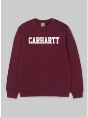 Carhartt Work in Progress College Sweatshirt / Sweatshirt rot