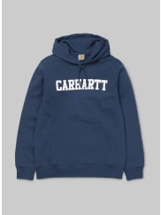 Carhartt Work in Progress Hooded College Sweatshirt / Sweatshirt blau