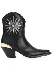 FAUSTO PUGLISI Boots With Lateral Application