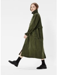G-Star Minor A-line Loose Trench