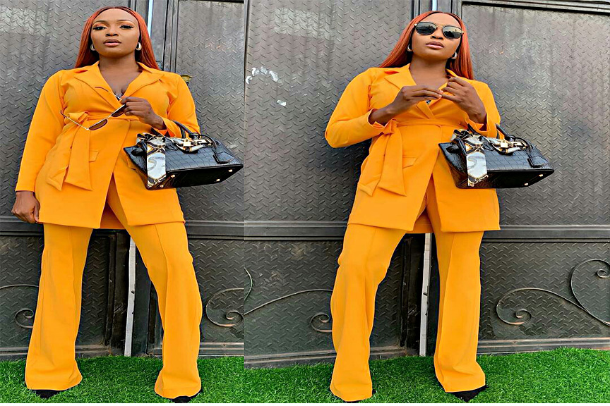 I Look Good In Yellow – Says Blessing Okoro