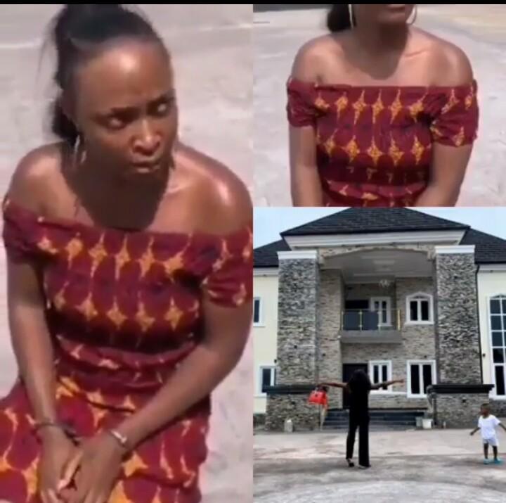 Nigerian Blogger Okoro Blessing Nkiruka, Arrested For Claiming Someone's House