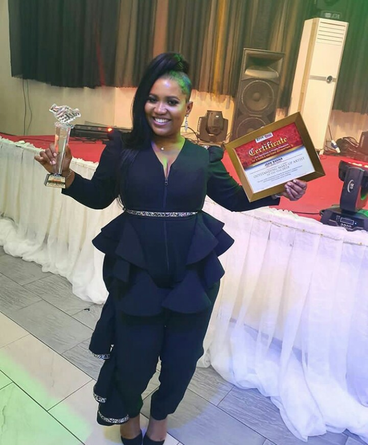"Best Makeup Artiste Of The Year By ""Faceofzikel"""