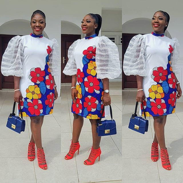 Cute Ankara Mix And Match Styles