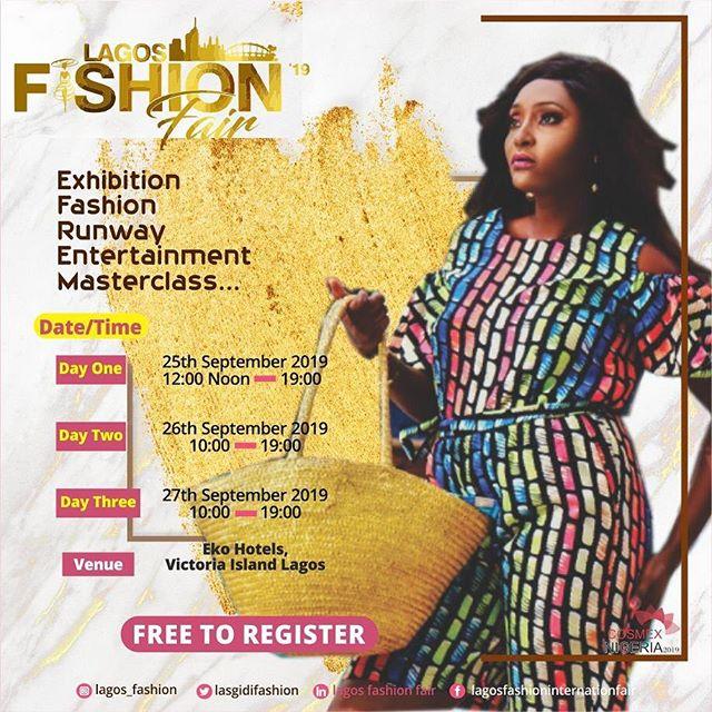 Lagos Fashion Fair 2019 Is Here!