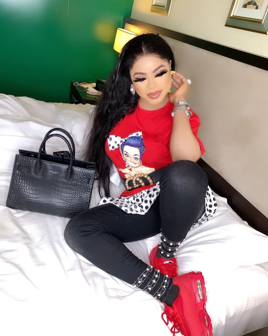 """""""Why Women Are In Love With Me"""" Bobrisky Explains"""