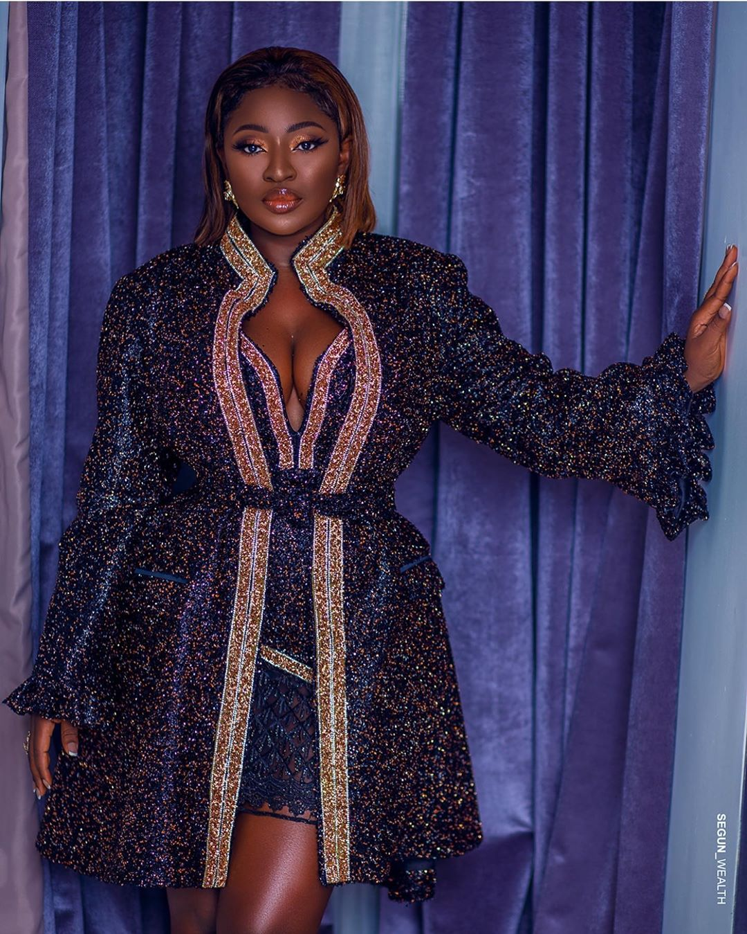 Yvonne Jegede Celebrates Birthday In A Gorgeous Outfit