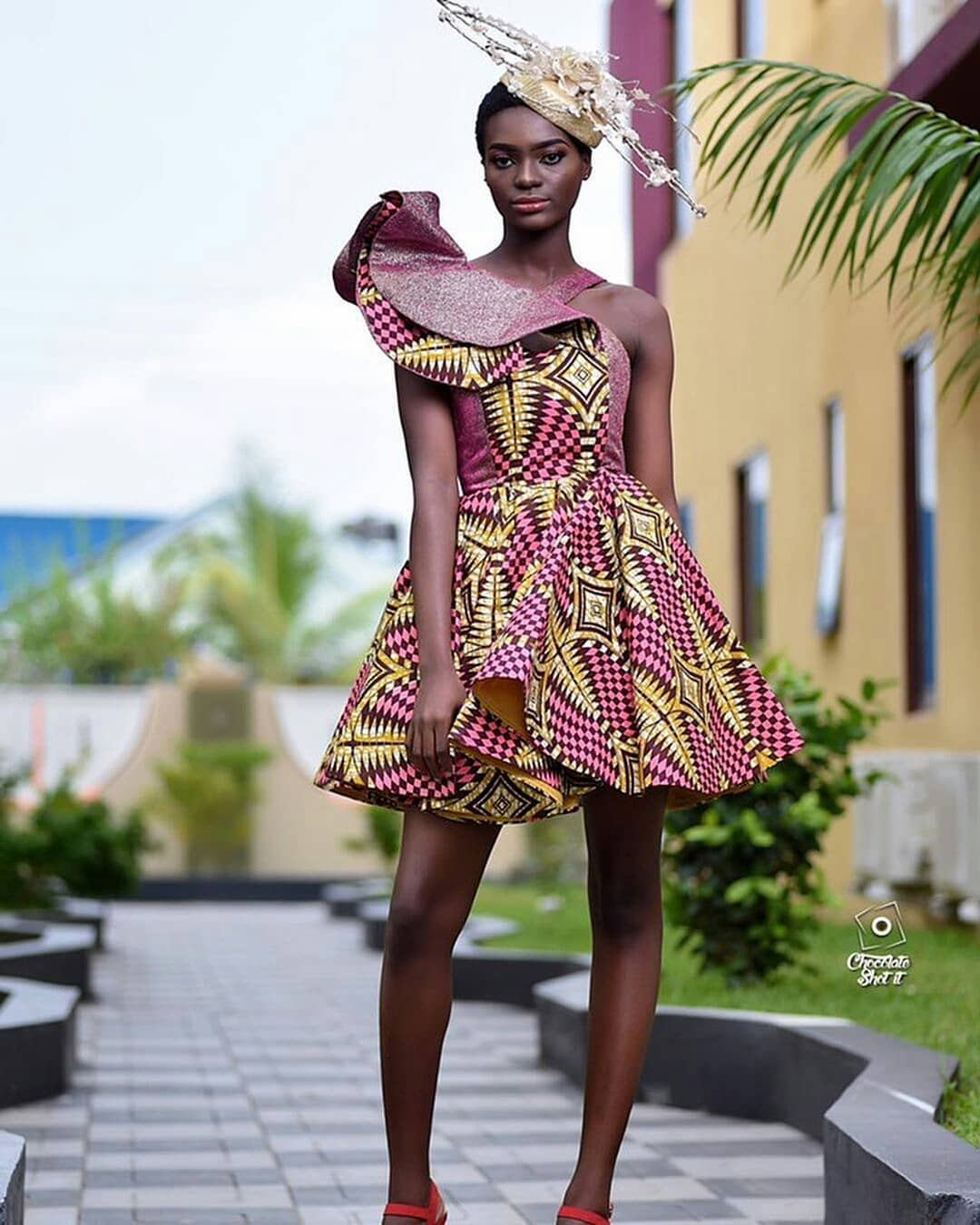 Some Cute Ankara Styles To Lighten Up Your Mood