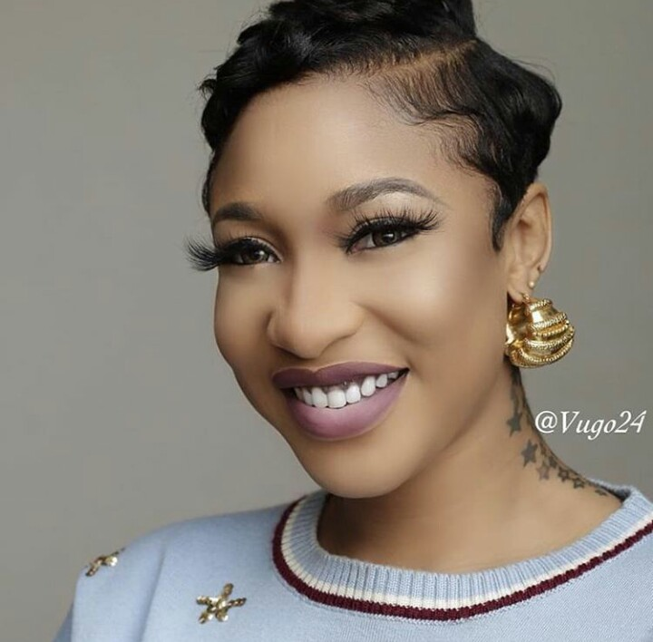 Checkout Tonto Dike's New Hair Style