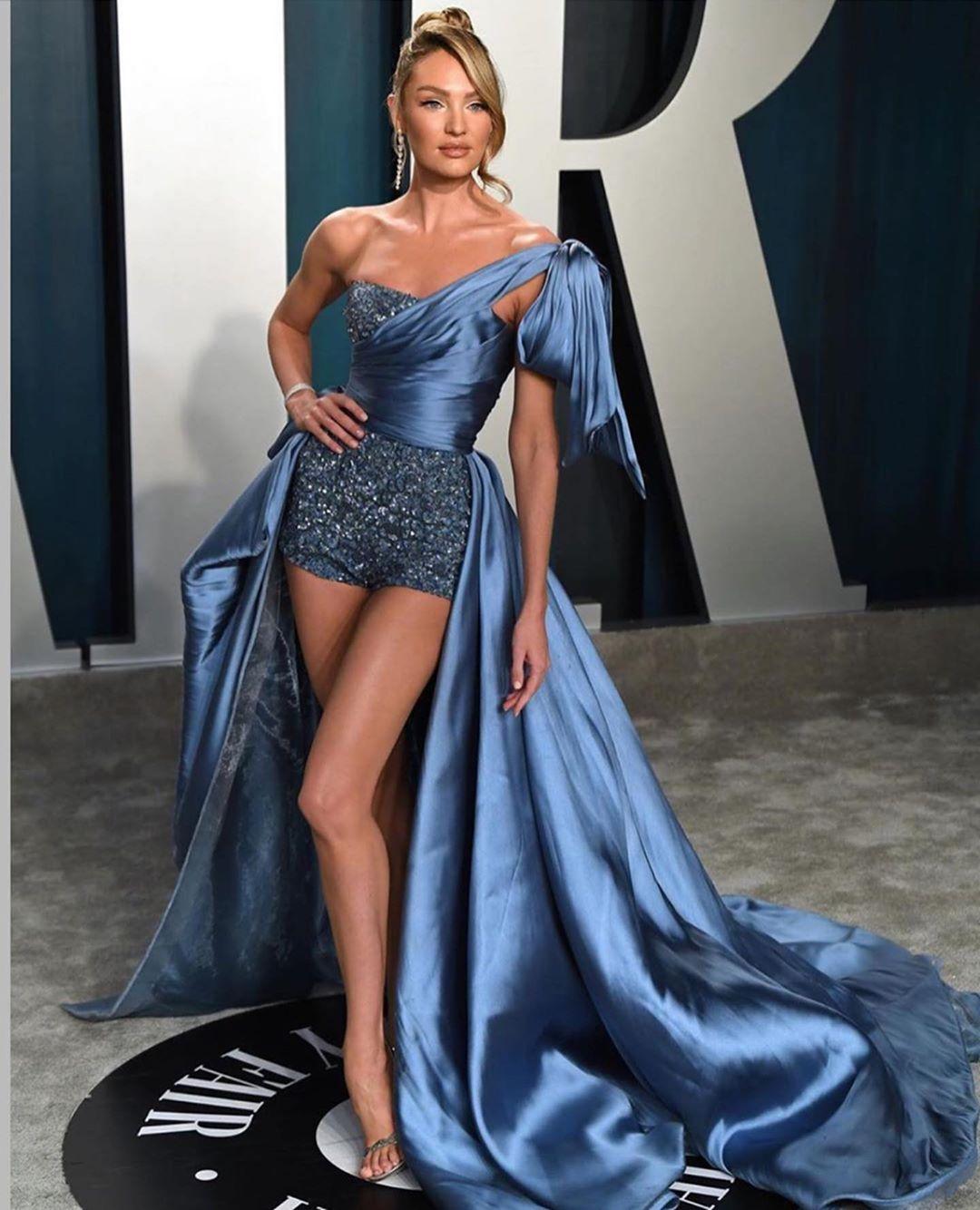 Hollywood Fashion Display At Oscar 2020 Award.