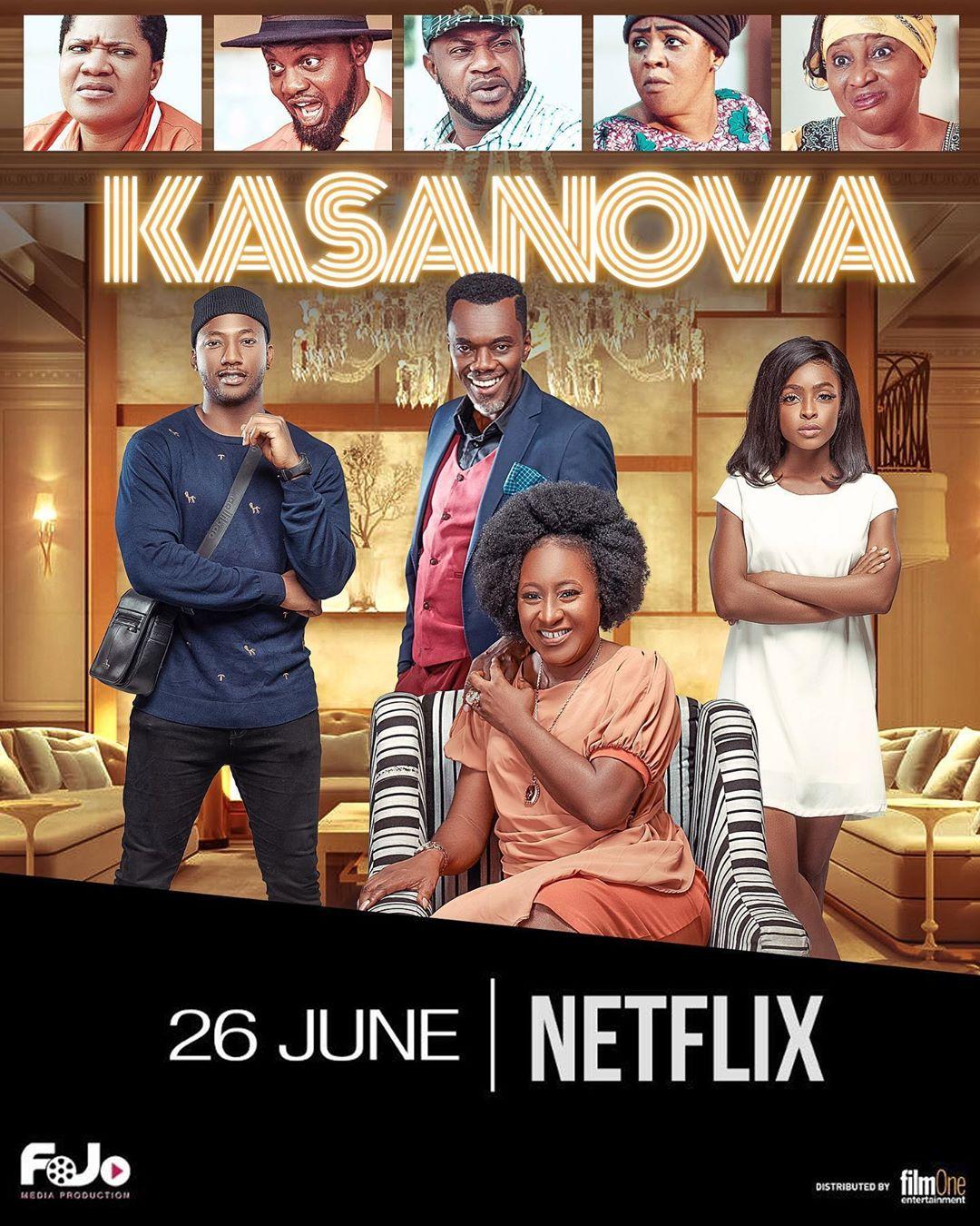 Kasanova Hits Netflix