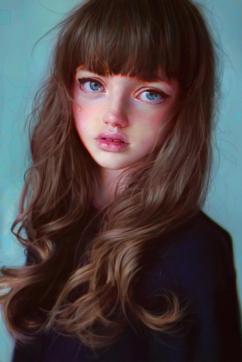 10 Absolutely Stunning Digital Portraits by Irakli Nadar - Digital Art Mix