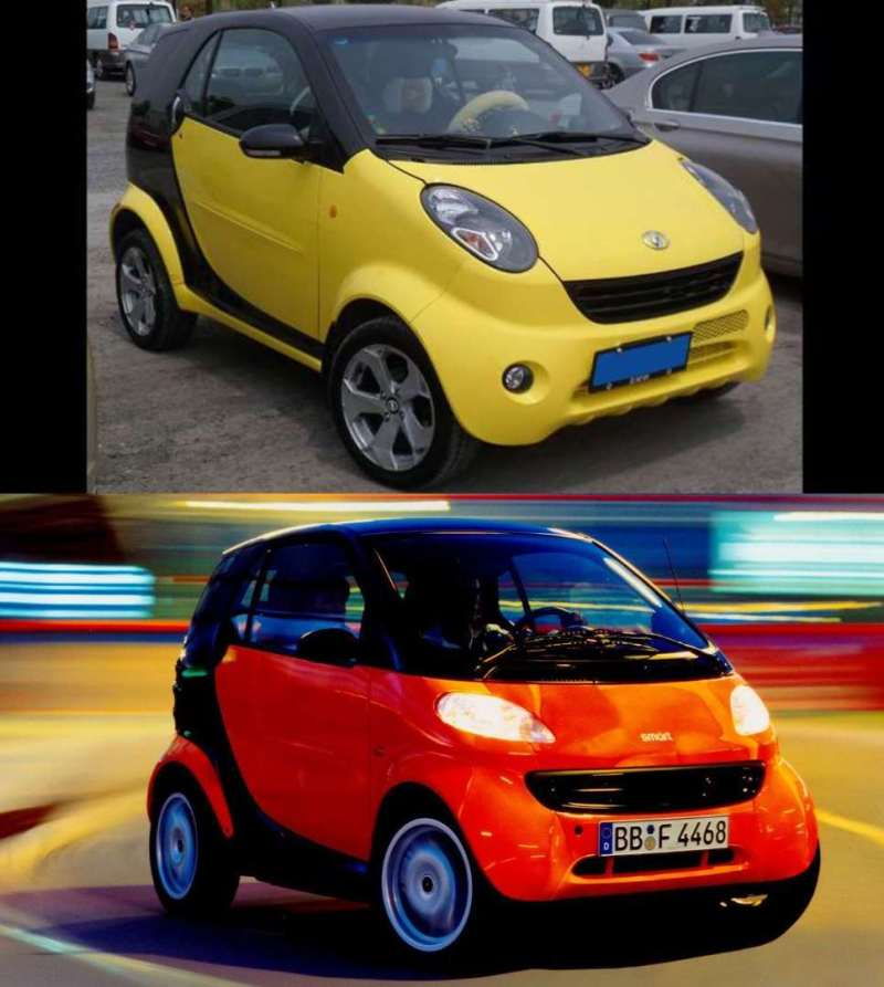Chinese Copycat Cars - Can You Spot the Difference? - Sublime99
