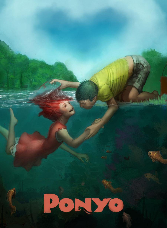 Beautiful Anime Art Inspired by Studio Ghibli - Digital Art Mix