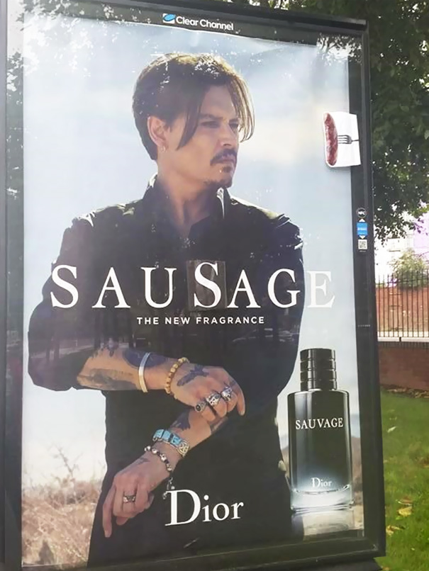 Hilarious and Clever Vandalism - Sublime99