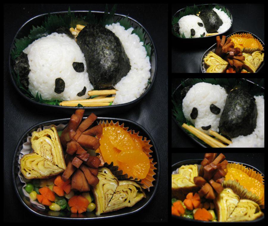cute japanese bento food art joyenergizer. Black Bedroom Furniture Sets. Home Design Ideas
