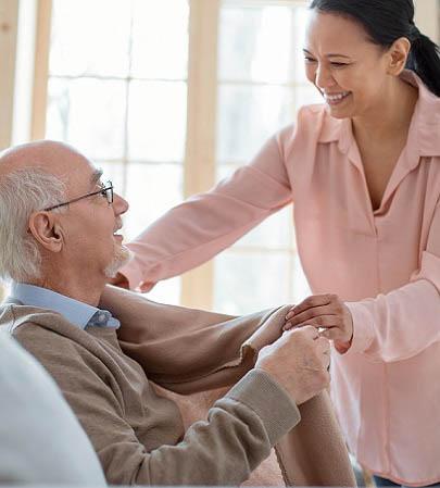 Hoivapalvelut senioreille nostokuva