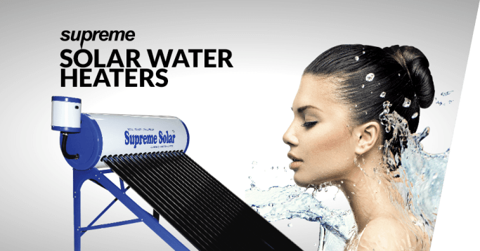 Supreme ETC Solar Water Heaters