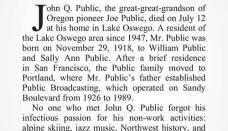 Obituary Sample