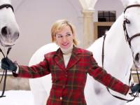 Režisér Vejdělek stylizoval Tatianu Dykovou do role podobající se anglické princezně