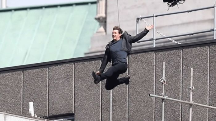 Tom Cruise se zranil při natáčení Mission Impossible 6