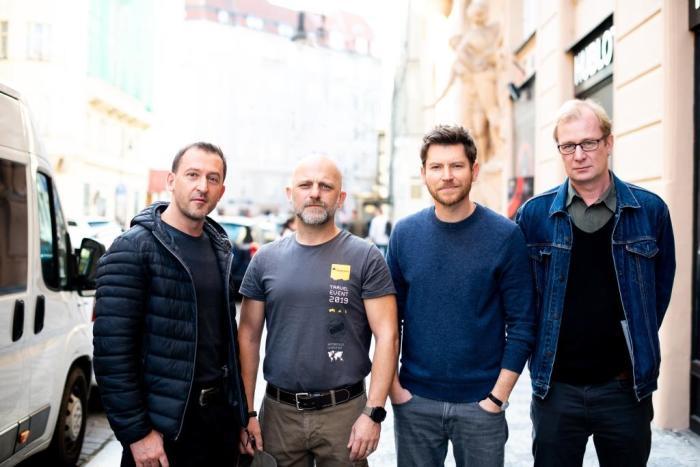 Patrik Hartl začal natáčet film podle vlastní knihy