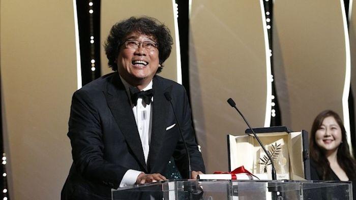 Zlatou palmu v Cannes získalo drama Parazit