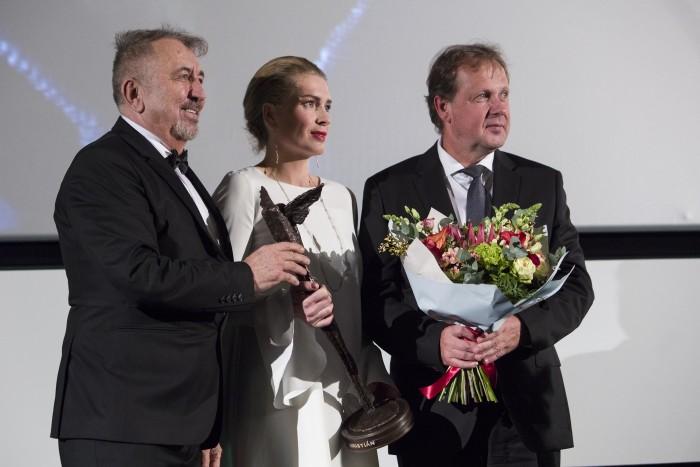 Na zakončení Febiofestu dostali Kristiána Bille August a Jiří Menzel