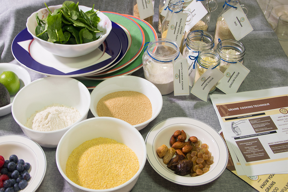Swahara Food Mindfulness workshop