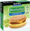 MorningStar Farms® Breakfast Sandwich – Sausage Egg and Cheese