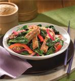 Spicy Spinach Salad