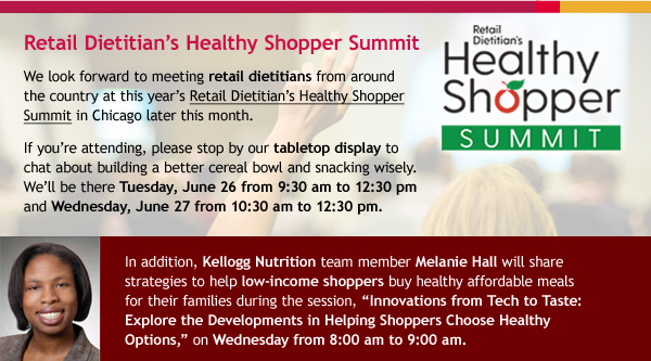 Healthy Shopper Summit