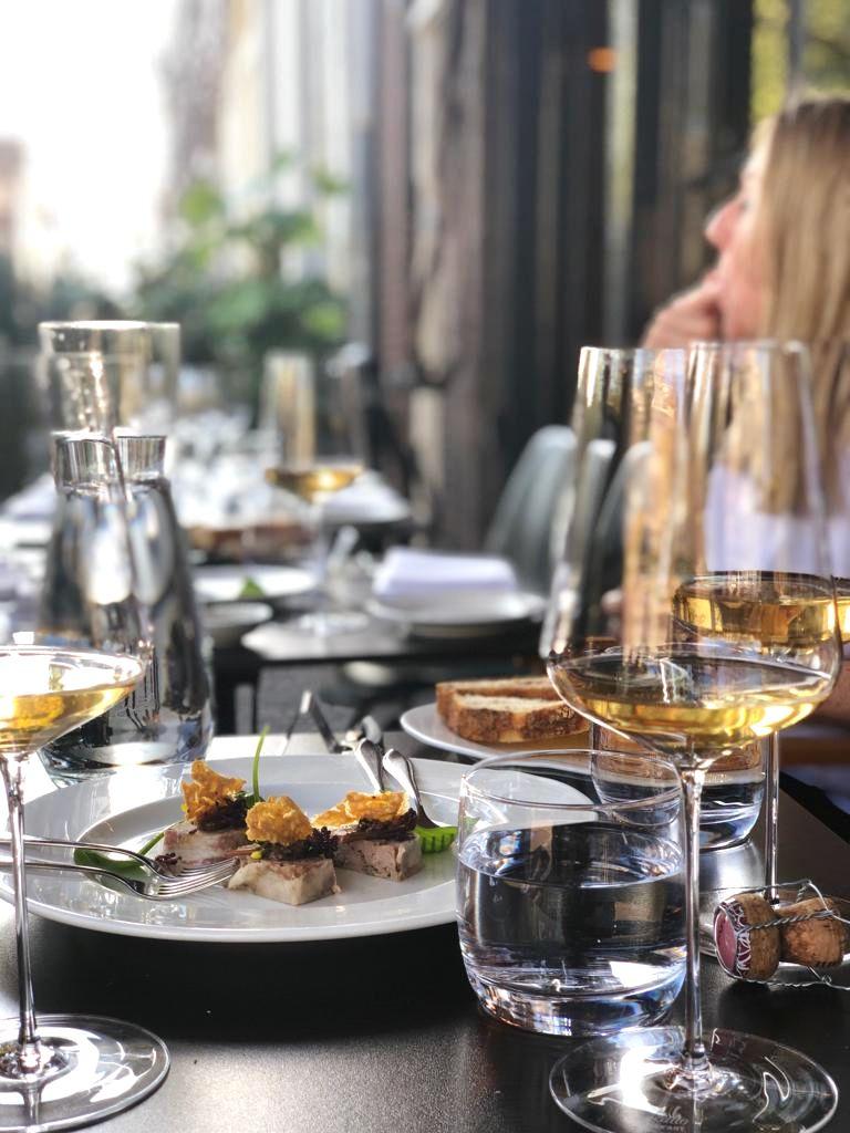 Italian restaurant Domenica serves Amsterdam's best traditional plates outdoors