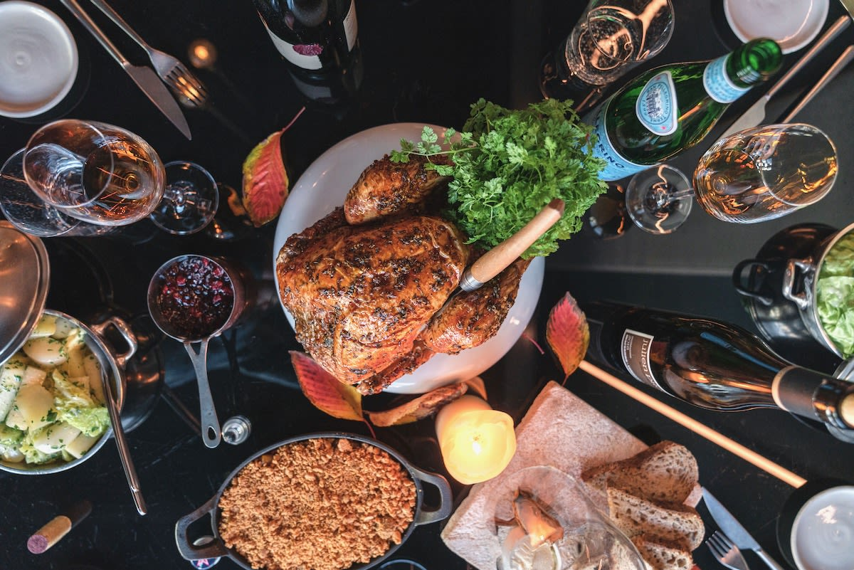 Recommended Amsterdam restaurant Bar Alt's three-course at-home Christmas dinner