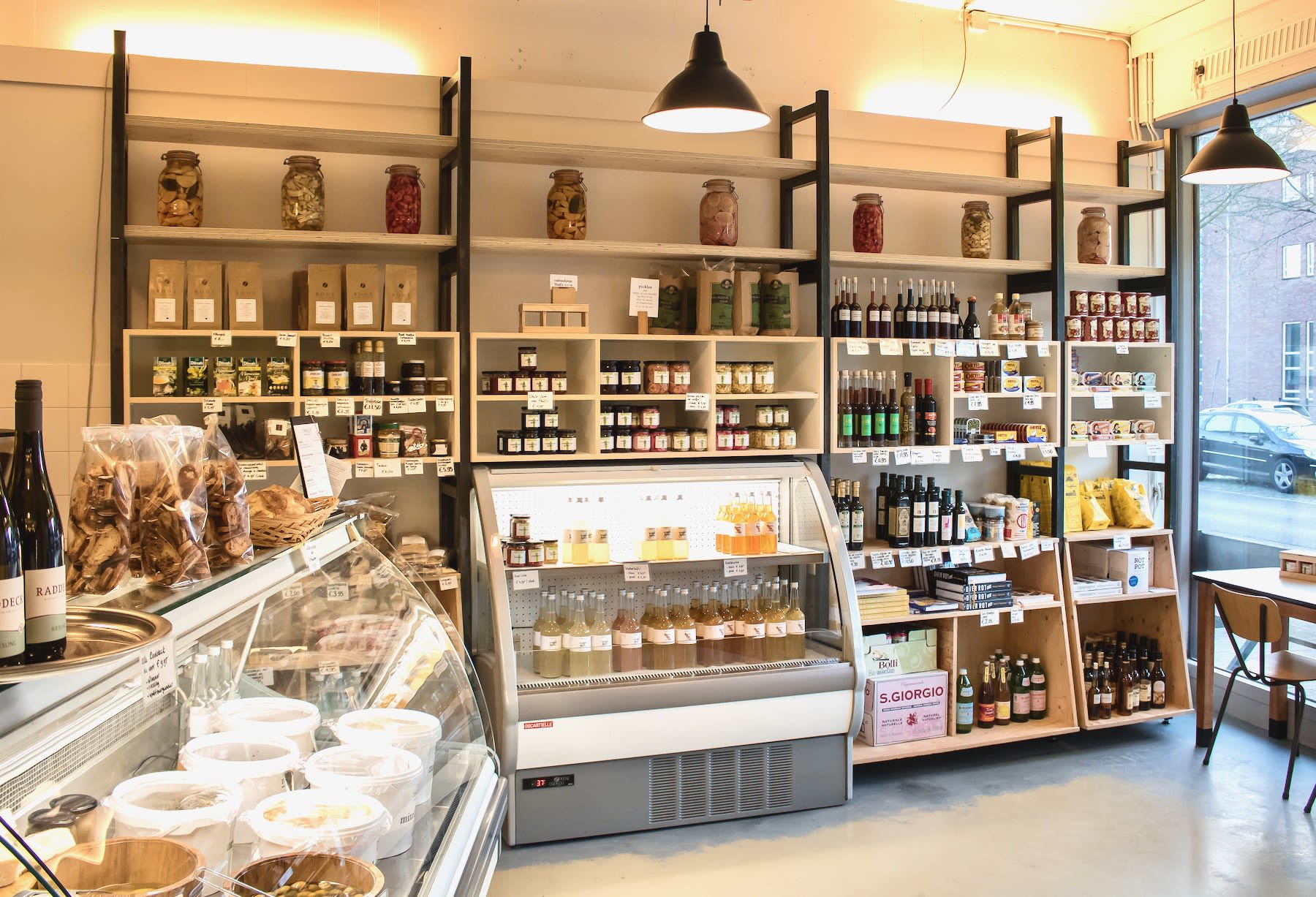Amsterdam deli with fermented foods and drinks is artisanal and female-owned