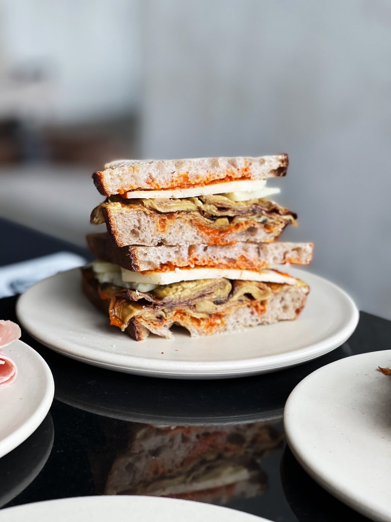 Sandwich from top Amsterdam restaurant Public Space | Table Sage's Spring Favorites in Amsterdam Noord