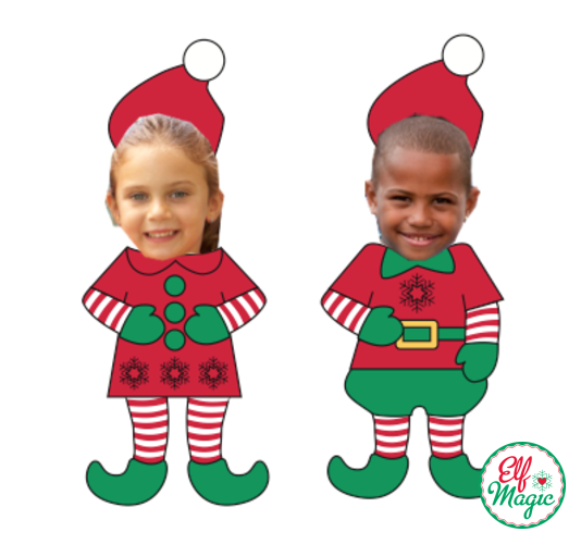 It's just a graphic of Impeccable Elf Yourself Printable