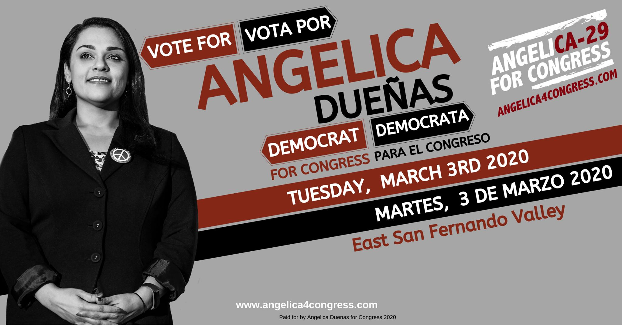 Vote For Angelica Dueñas