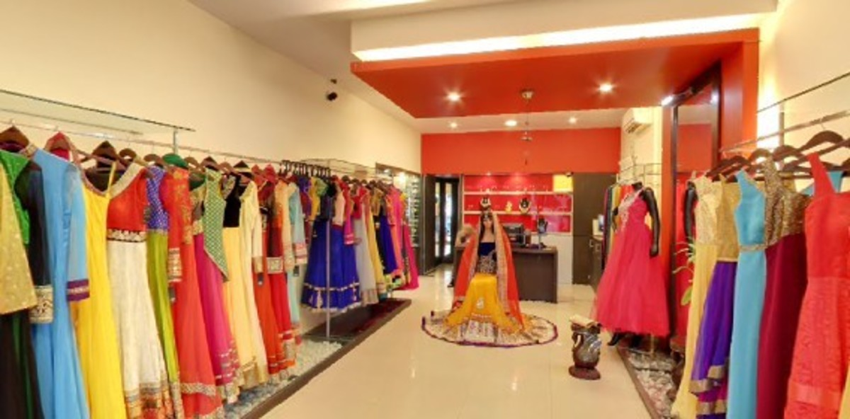 11 top party wear sarees and gown shops in bangalore for Top ten boutiques