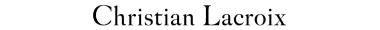 Christian Lacroix logotyp