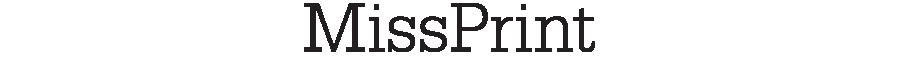 MissPrint logotyp